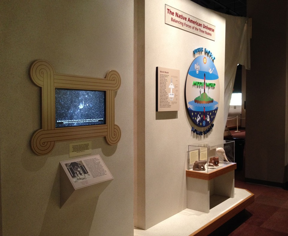 The Native American Universe, video and exhibit